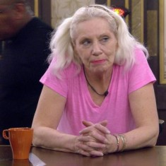 Angie Bowie: not happy with the Chump from the Dump