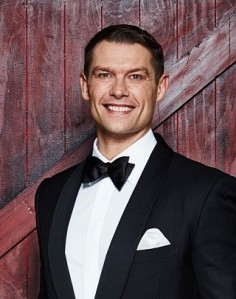 John Partridge: doesn't like homophobes. Like Winston