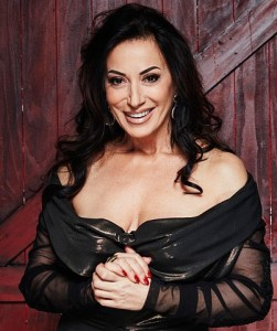A reality show veteran: Nancy Dell'Olio