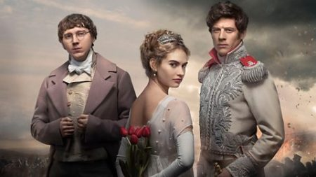 The BBC's War and Peace... not quite as Tolstoy might have imagined it