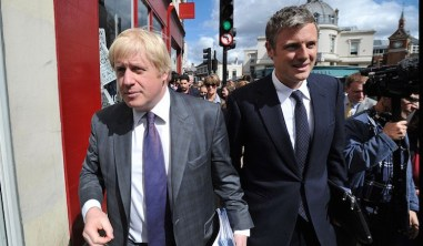 Spot the difference: Zac Goldsmith and the London Mayor, Boris Johnson