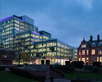 Croydon Council's offices - which cost £100m more than the usual price for a similar sized building