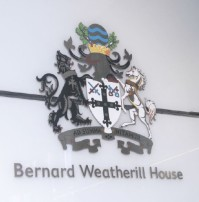 Bernard Weatherill House signage
