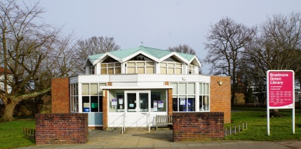 Under threat: Bradmore Green Library