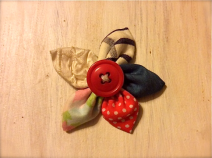 Coffee Craft brooch