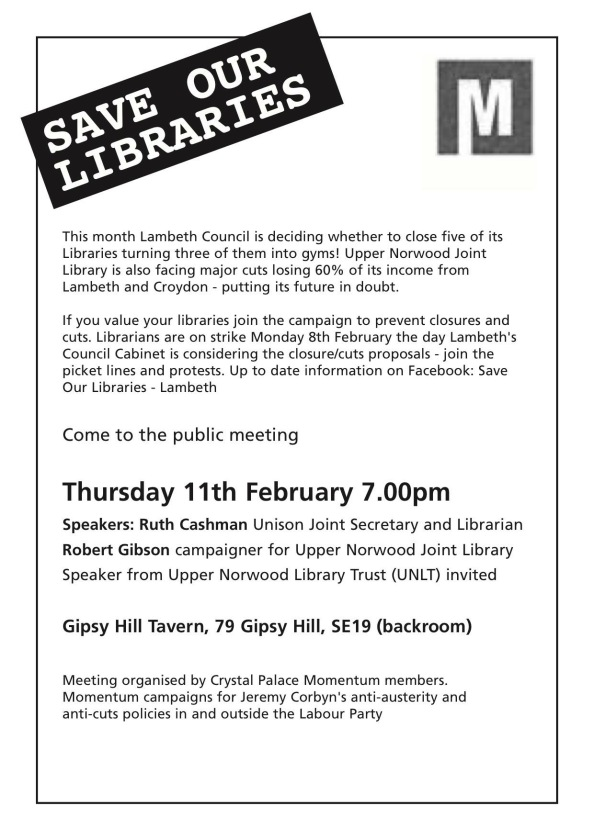 Libraries meeting