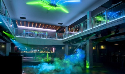 "The vast basement area in Luna offers a ""premium bar and night club"", acording to the owners"