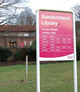 Sanderstead Library: one of the lesser-used facilities sited on valuable real estate