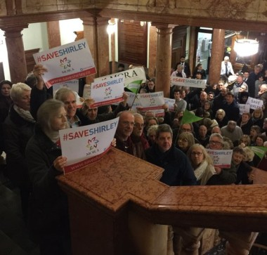 Newman's antagonistic leadership has made it easy for the Tories to get hundreds of protesters to turn out at the Town Hall, as with the Shirley Oaks campaign last month