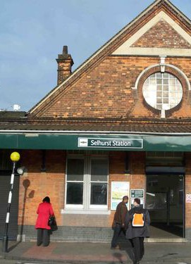 Facing the axe: Selhurst's ticket office could be among the first to close
