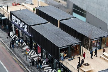 Boxpark in Shoreditch: its opening date for Croydon remains uncertain