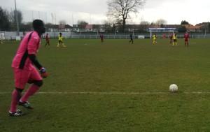 Pink Panther: Trams goalkeeper, Francis Ameyaw