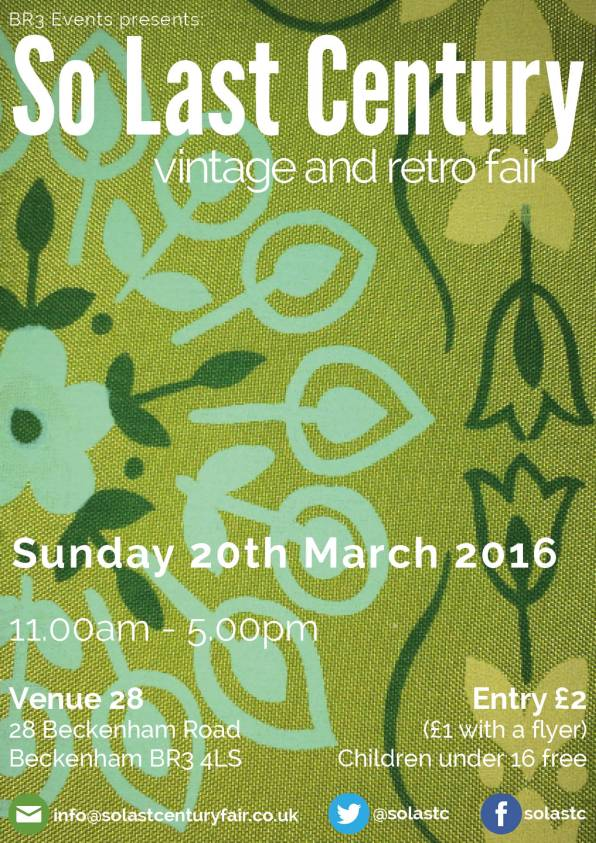 retro fair poster