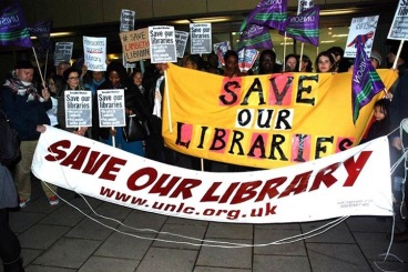 Residents have been campaigning to save their library in Upper Norwood for many year