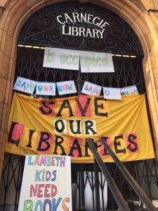 Occupied Carnegie Library: how long before something similar happens in Croydon?