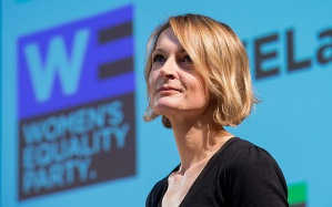 Sophie Walker: standing for the Women's Equality Party