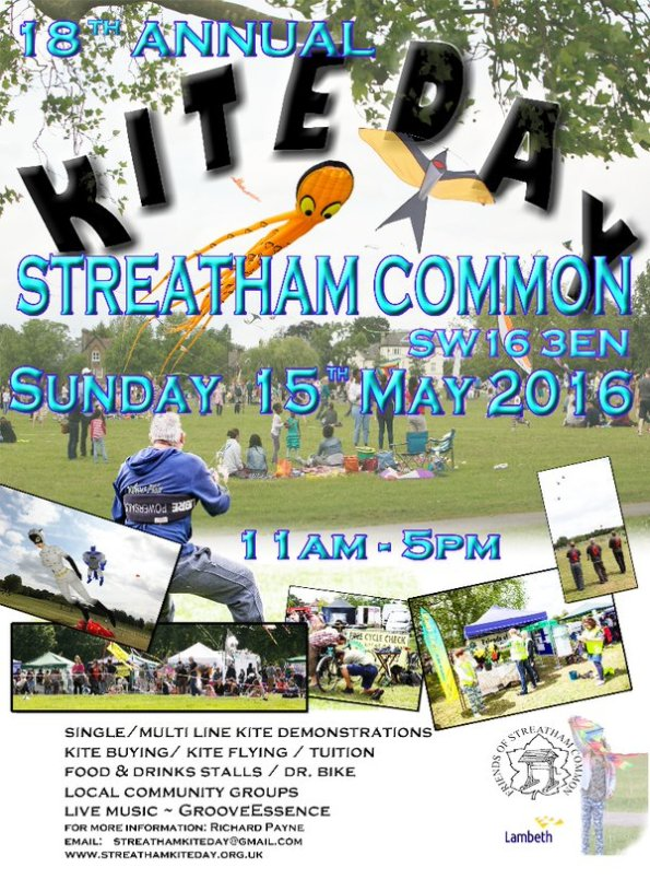 Streatham Common kite day
