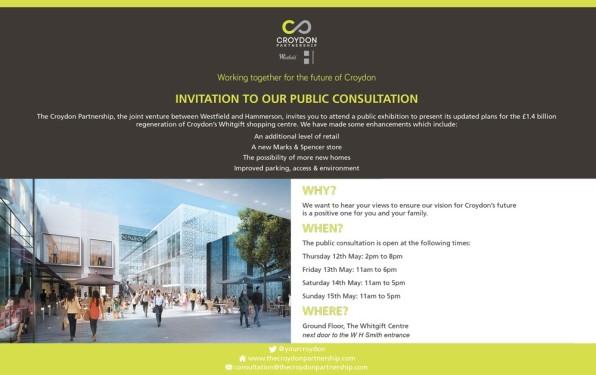 Westfield consultation