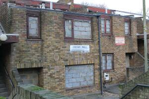 Cressingham Gardens in Lambeth, where habitable council homes have been closed down to make way for private developers