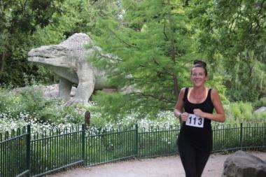 Dinosaur relay