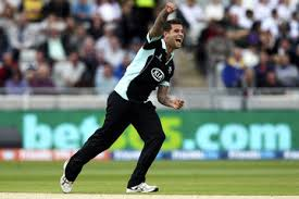 Jade Dernbach: one of Surrey's key players who is out injured