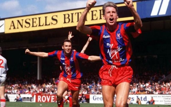 Alan Pardew's goal in 1990 took Palace through to the FA Cup final