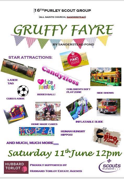 Purley Scouts fayre