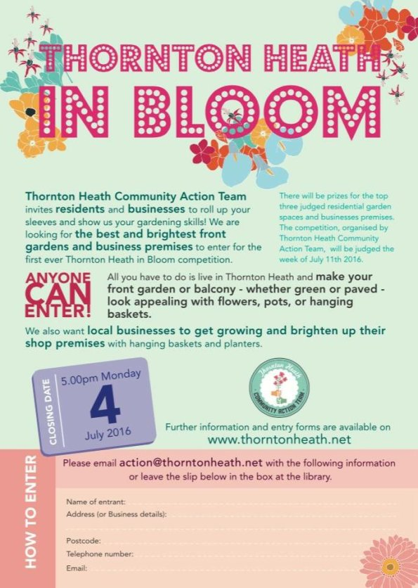Thornton Heath in bloom