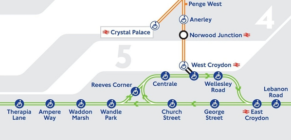 Croydon really is put on the map with latest Tube guide Inside