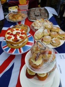 The cakes stand at UNACC events is always worth a visit