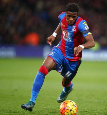 Wilfried Zaha: carries hopes of thousands of Palace fans