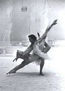 The Bolshoi Ballet performed in London in 1956, including at Croydon's Davis THeatre