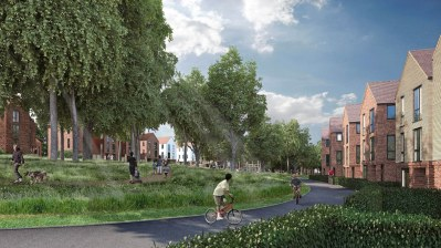 An artist's impression of the idyll that is Cane Hill Park. Traffic issues caused by the housing development are a pain for the rest of Coulsdon