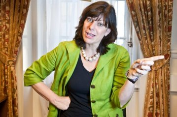 Tory rail minister Claire Perry: she provides the direction for Southern from Whitehall