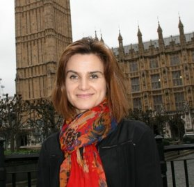 Jo Cox MP: only in Coulsdon has the suspension of political activity not been observed