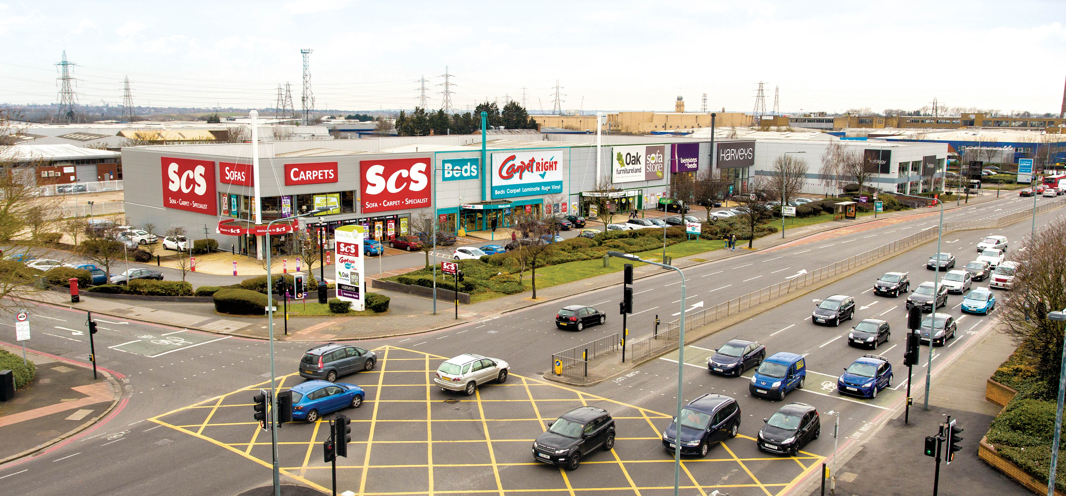 purley way retail park snapped up in 45m property deal. Black Bedroom Furniture Sets. Home Design Ideas