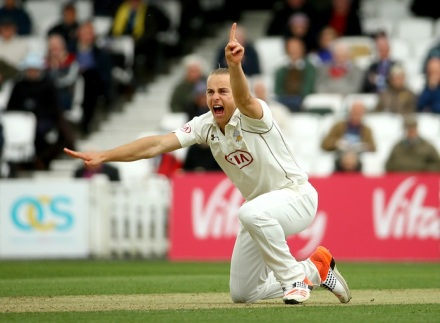 A weight on young shoulders: Surrey have invested a lot of hope in Tom Curran