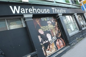Help raise funds towards the new Warehouse Theatre at this Friday's wine tasting