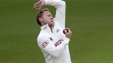 Bowled over: Surrey skipper Garteh Batty admits his side has struggled in the top tier so far