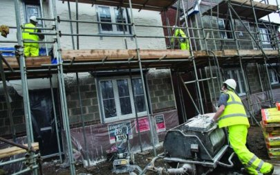 Anational programme of building homes could help revive the flagging economy