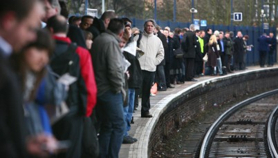 Passengers face longer waits forpotentially even more crowded trains from this morning