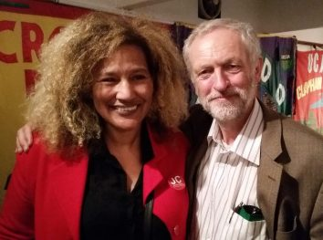 'Outraged by Steve Reed': Genevieve Murray-Dinsmore, Croydon North's women's officer, is a supporter of Jeremy Corbyn