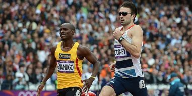 Croydon Harrier Martyn Rooney in action at the 2012 Olympics. What chance the 2026 Commonwealth Games coming to Crystal Palace?