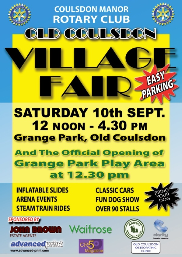 Rotary Village Fair 10 Sept 2016