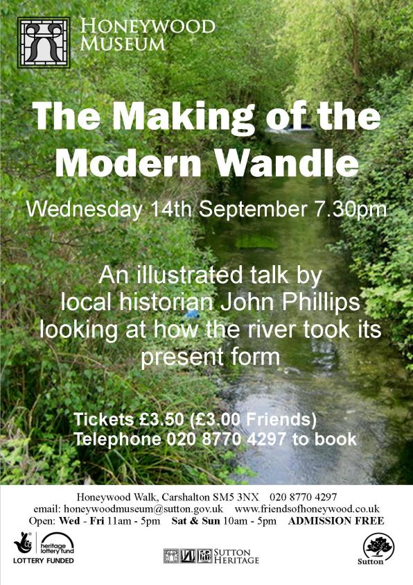 Wandle Modern river wandle history honeywood museum sep 14 inside croydon