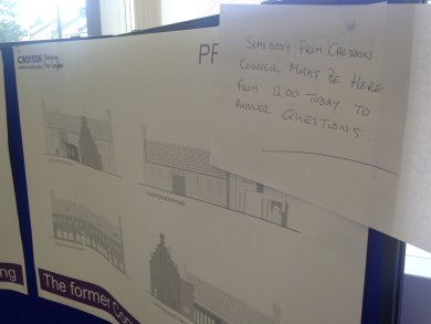 This is what a public consultation, Croydon Council-style, looks like in 2016