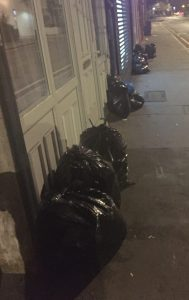 Bin bags dumped on the pavement has become a nightly scene on some streets in Croydon
