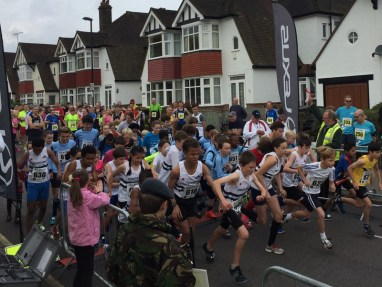 And they're off: this year's Croydon 10km road race is on October 9