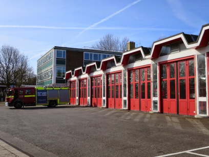 Croydon fire station: soon to be the site of a six-storey fire tower
