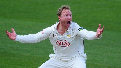 Very appealling: Surrey captain Gareth Batty has had a terrific season, leading to an England recall
